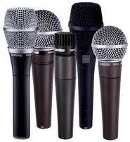 noleggio kit microfoni